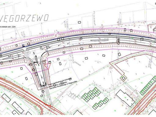 Projekt rozbudowy drogi wojewódzkiej nr 650 na odc. Węgorzewo-Banie Mazurskie